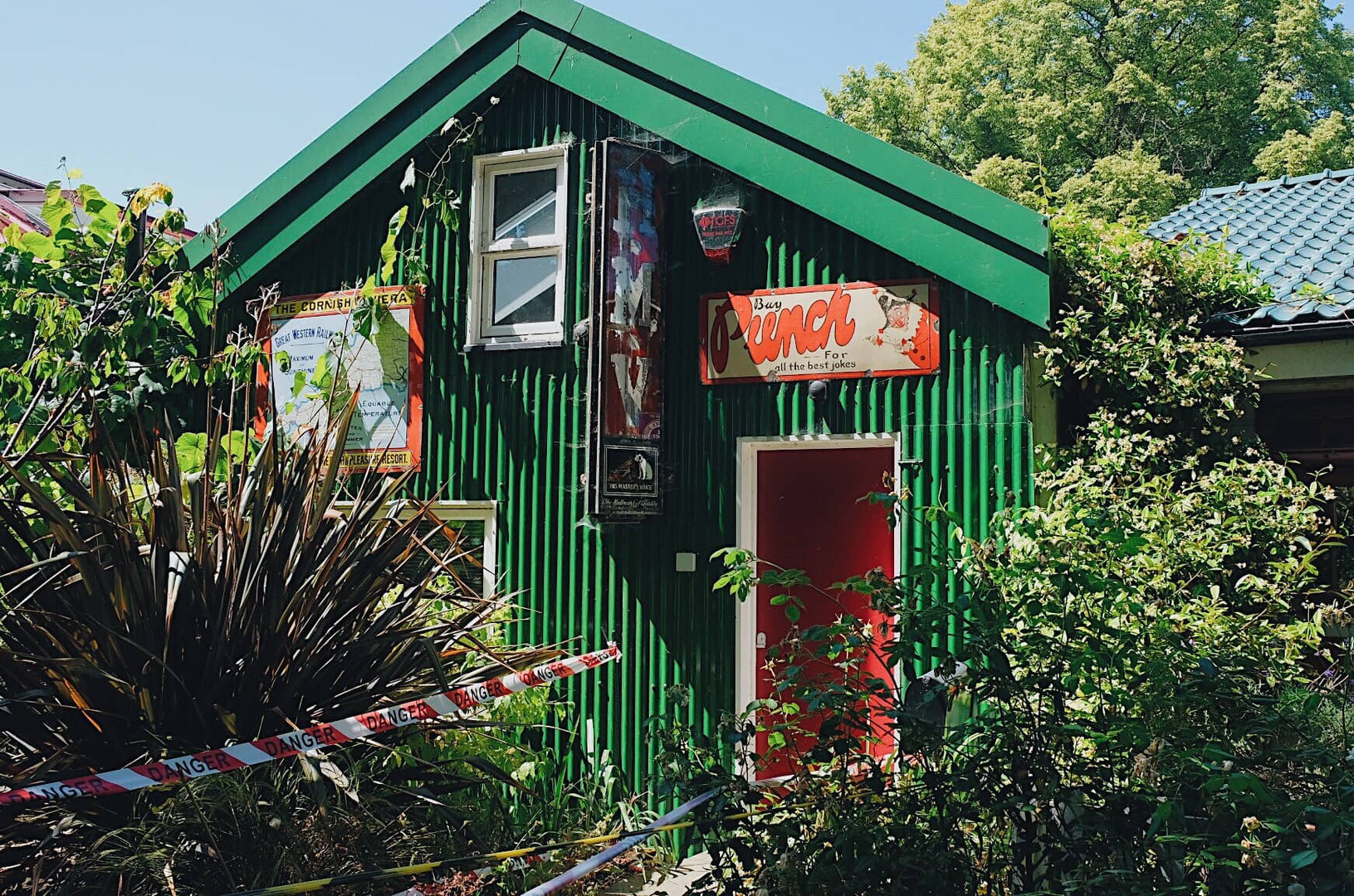 A studio on Eel Pie Island