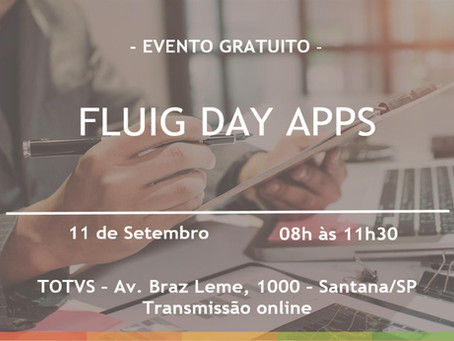 Evento - FLUIG DAY APPS