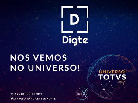 A Digte foi selecionada para expor no Universo TOTVS!