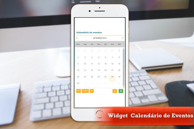 Gadget Calendario.Widget Calendario De Eventos