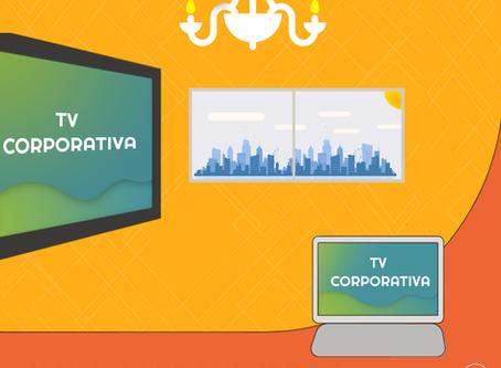 Novo componente de TV Corporativa