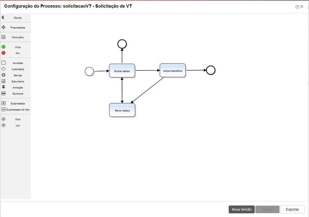 Configurando processo BPM