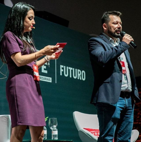 Denis Eloterio, CEO e fundador da Digte no evento LIDE Futuro