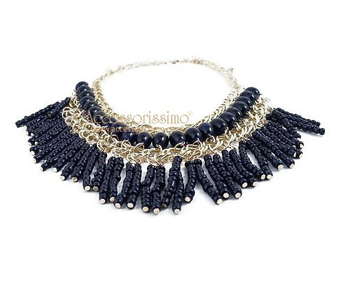 SAVANNA BLUE - Collar mujer