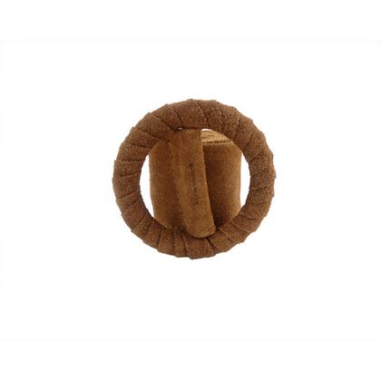 SBELTIA CAMEL - Cinturon Piel