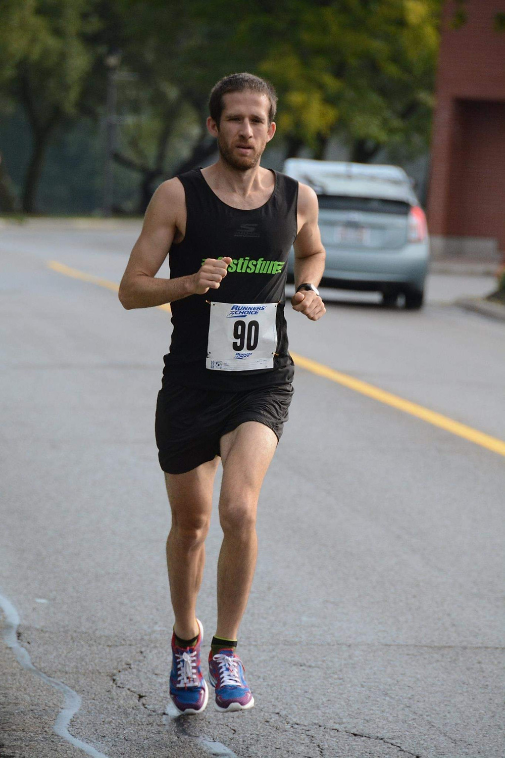Adam Hortian is a runner and massage therapist in the Kitchener-Waterloo area