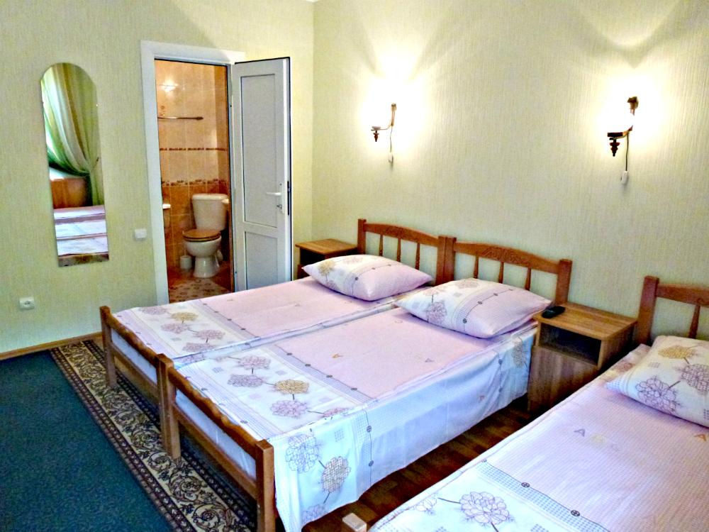 Трехместный комфорт для 2-4 гостей