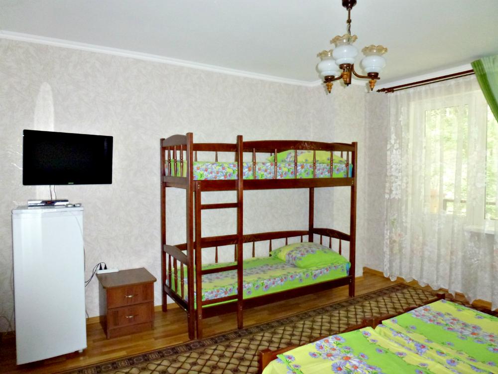 Семейный номер с балконом для 4 гост