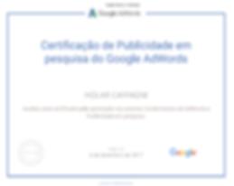 Google Adwords Pesquisa