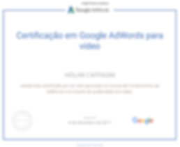 Adwords Vídeo