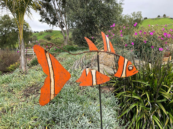 Nemo Fish Sculpture, Kinetic Fish Sculpture