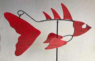 Fish Sculpture, Kinetic Fish Sculpture