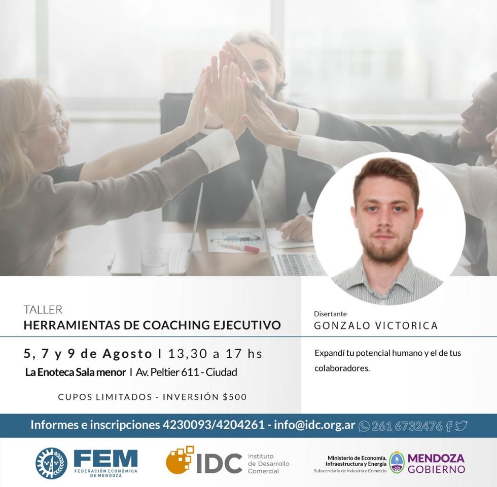 Economía capacitará a comerciantes en coaching ejecutivo