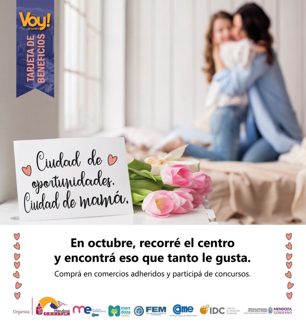 Comercios de Ciudad se suman a campaña por el día de la Madre