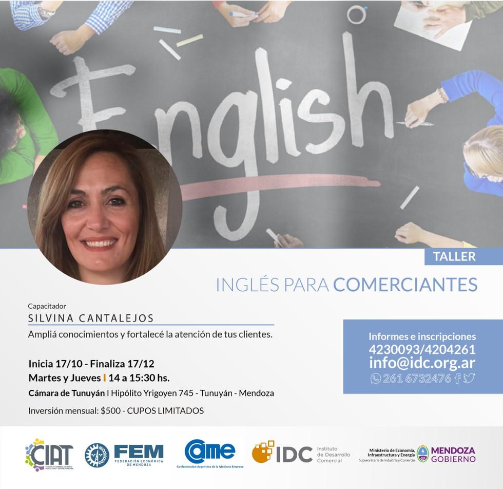 El IDC capacitará en Inglés a comerciantes del Valle de Uco