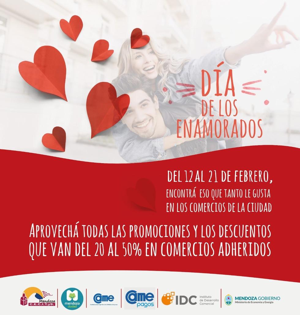 Día de los enamorados: el IDC y la Cecitys invitan a participar de importante campaña de descuentos