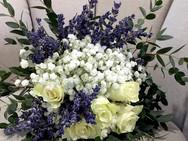 bouquet com lavanda