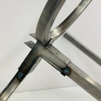 1:2 Construction Model of Panel Frame