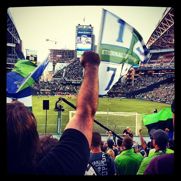 Seattle sounders ole!