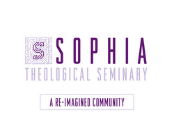 Branding, business card, colors and brochure for Sophia Theological Seminary, A Re-Imagined Communit