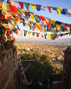 View of Kathmandu from the Monkey Temple