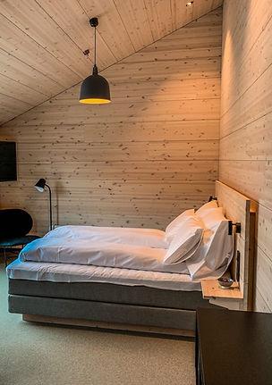 Soverom interiør - seng