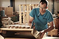 Fabricación de armazones de madera