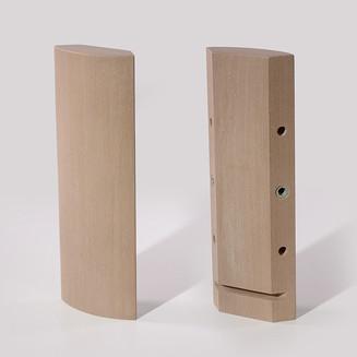 Pata de madera para canapé