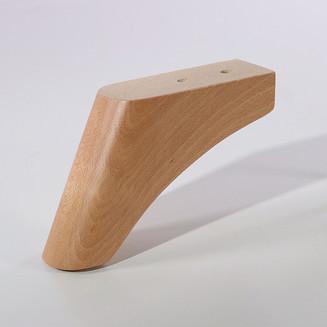 Pata de madera para sofá o sillón