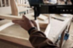 Armazón de sofá o sillon mapay en madera
