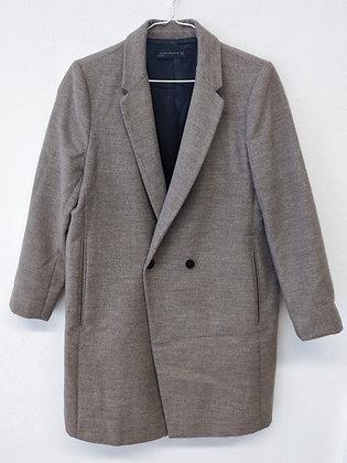 Hnědý kabát, ZARA, vel XL