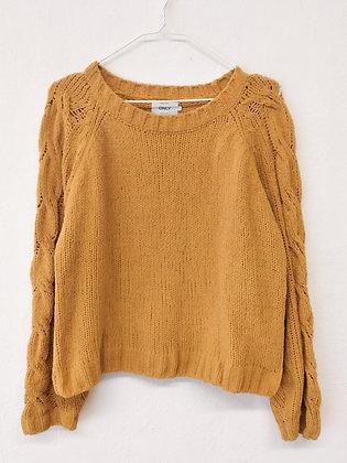 Hořčičový svetr , ONLY, vel. L