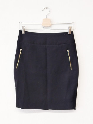 Černá sukně se zipy, Reserved, vel.36