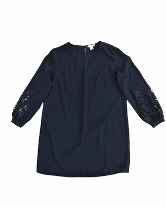 Šatový top s krajkou na rukávech, H&M, vel. 44