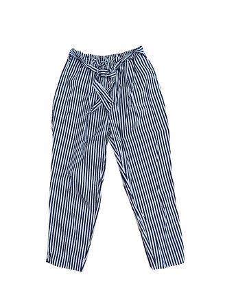 Pruhované kalhoty, ZARA, vel. M
