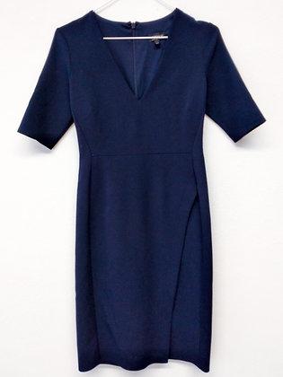 Tmavě modré šaty, TOPSHOP, vel. 38