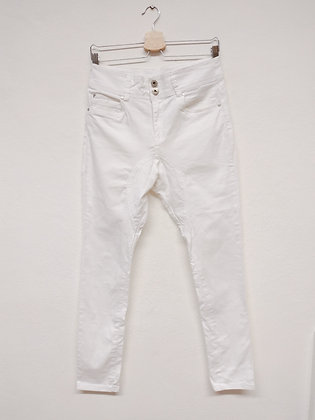 Kalhoty bílé, Terranova, vel. XS