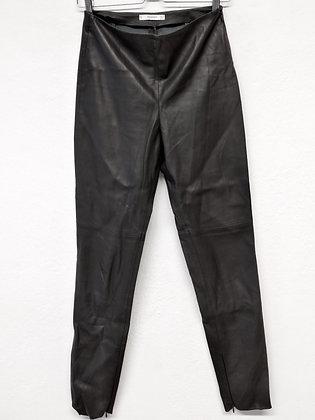 Koženkové kalhoty, Mango, vel.36