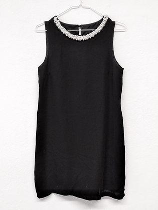 Společenské šaty s perličkami, H&M, vel.40