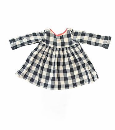 Kostičkované šaty, Next, vel. 6-9y