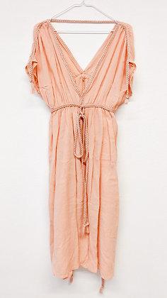 Lososové šaty, vel. M
