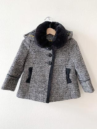 Kabátek s kapucou, 9-12m