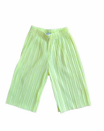 Žluté plisované kalhoty, Reserved, vel. 110