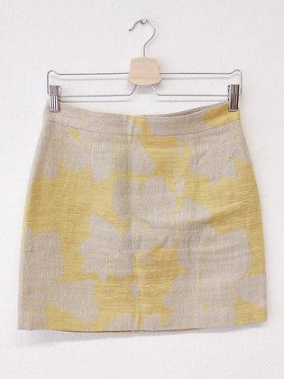 Žluto-béžová sukně, ZARA, vel. S