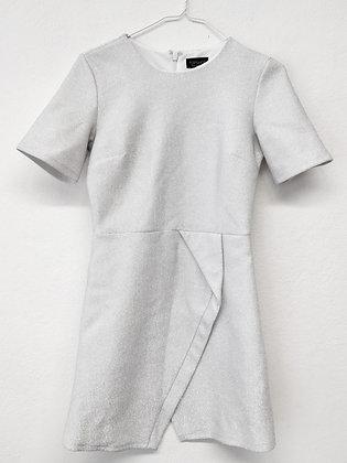 Stříbřité šaty, TOPSHOP, vel. 38