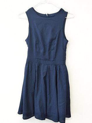 Tmavě modré šaty s krajkou, ONLY, vel. 34