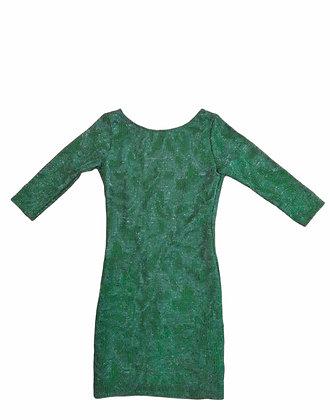 Zelené společenské šaty , ZARA, vel. S