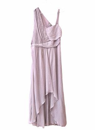 Fialkové společenské šaty, ASOS, vel. 44