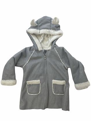 Kabát s beránkem a ouškama, Primark, 2-3y