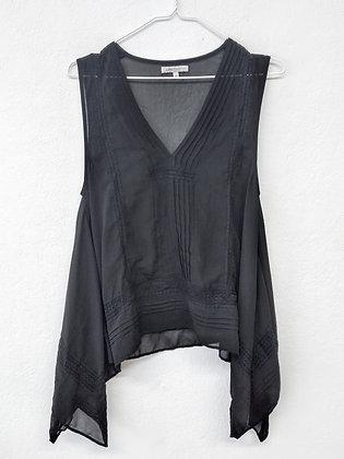 Černý top s krajkou, Limited Edition, vel. 40